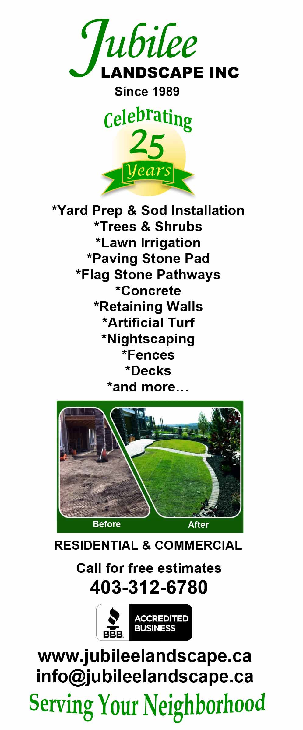Home · About Us · Services ... - Landscaping Services - Jubilee Landscape Inc.